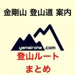 「金剛山」登山ルートまとめ/登山道コース別に詳しく案内!金剛山トレッキングの駐車場・アクセスなどの解説