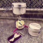 登山に役立つ超便利な湯沸かし器クッカーセット[簡単料理セット編]道具のアイデアとスタッキングのコツを解説